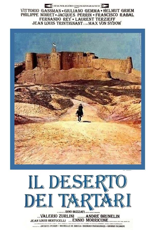 The Desert of the Tartars kapak