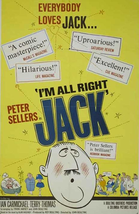 I'm All Right Jack kapak