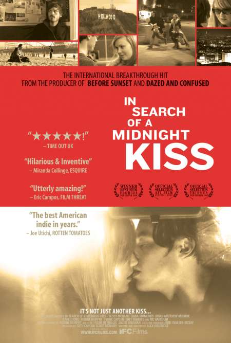 In Search of a Midnight Kiss kapak