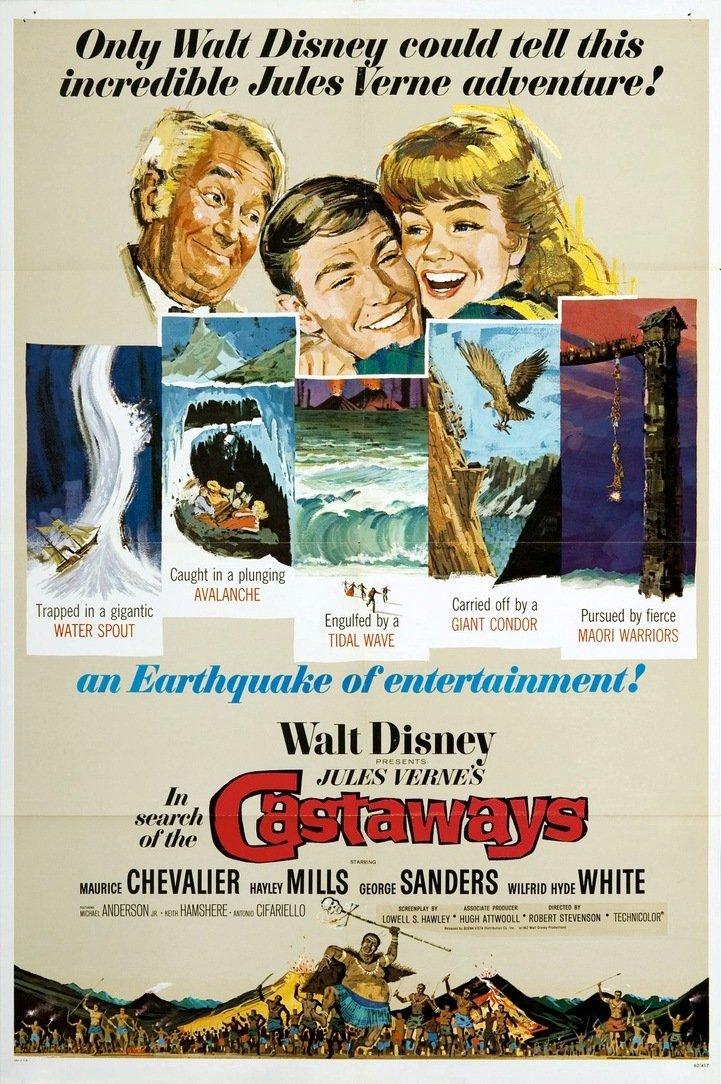 In Search of the Castaways kapak