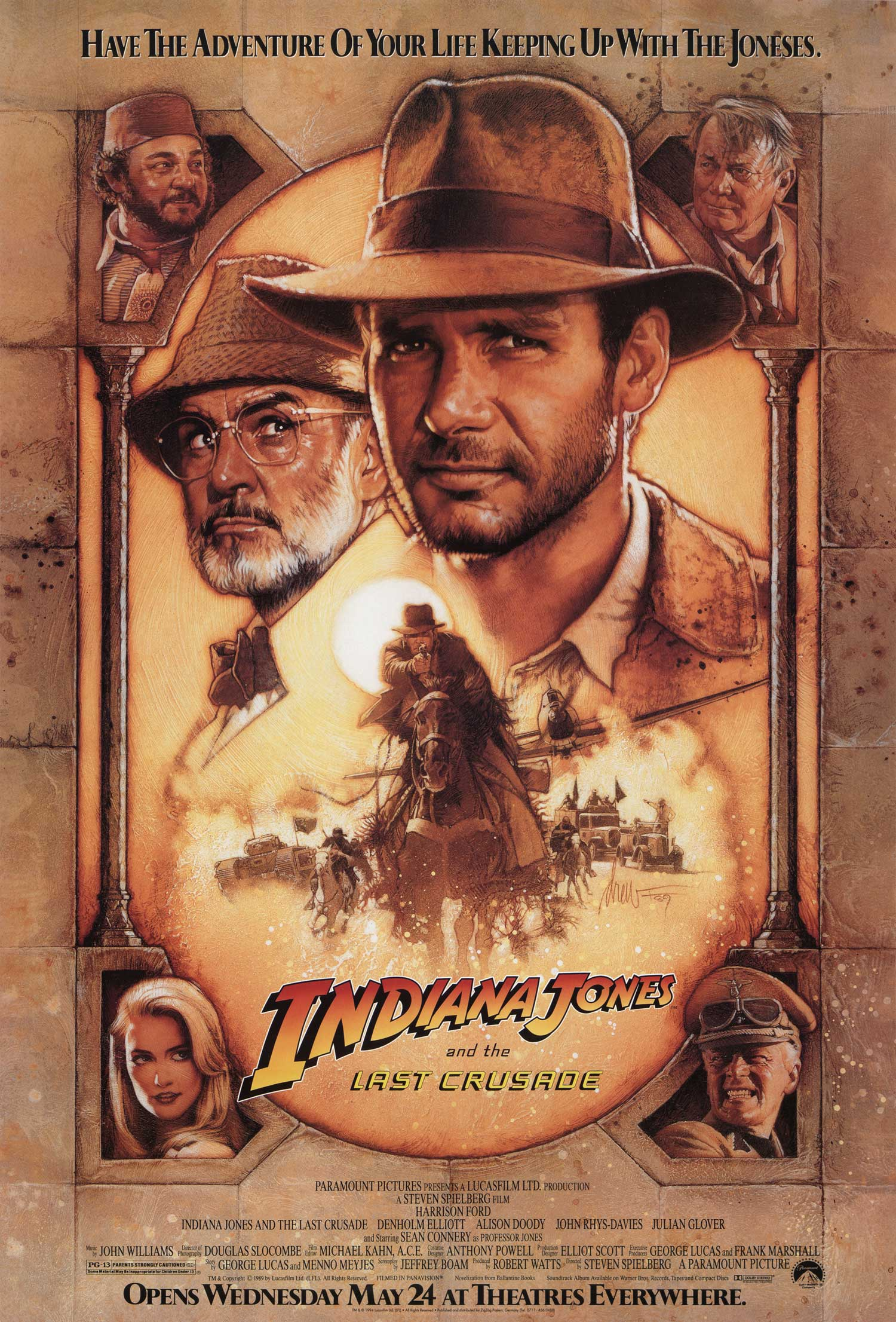 Indiana Jones and the Last Crusade kapak