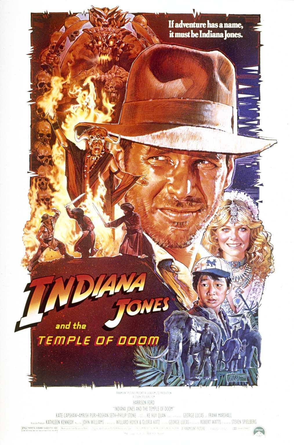 Indiana Jones and the Temple of Doom kapak
