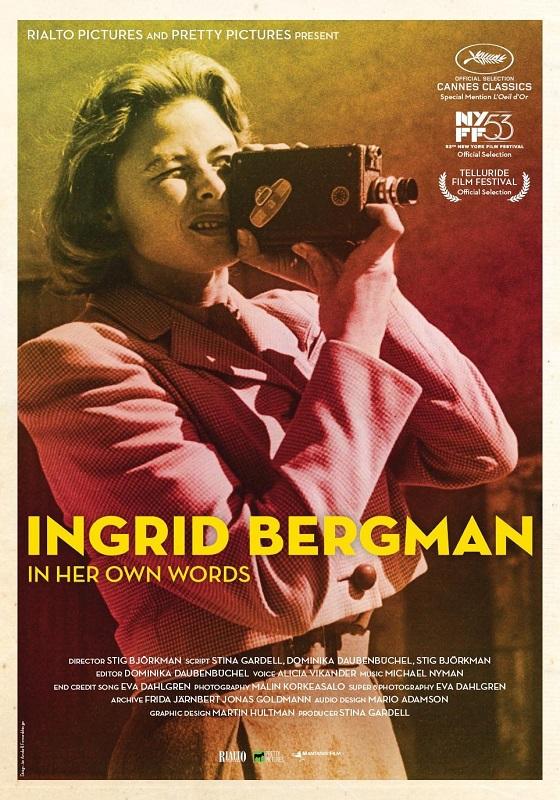 Ingrid Bergman: In Her Own Words kapak