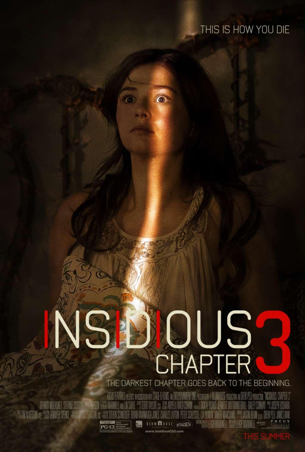 Insidious: Chapter 3 kapak