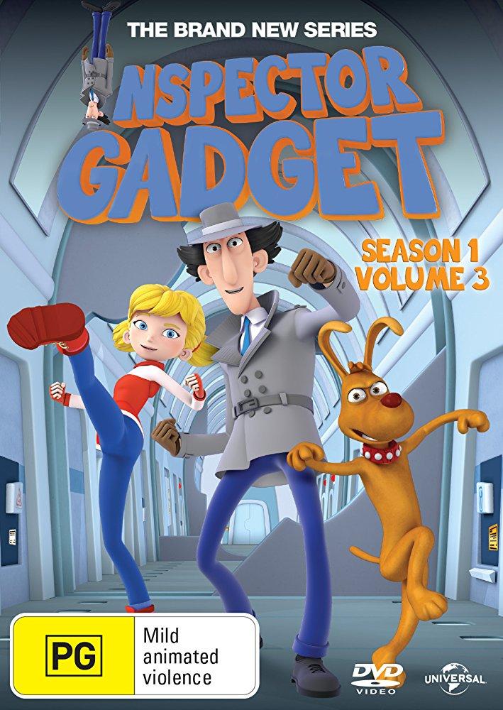 Inspector Gadget kapak