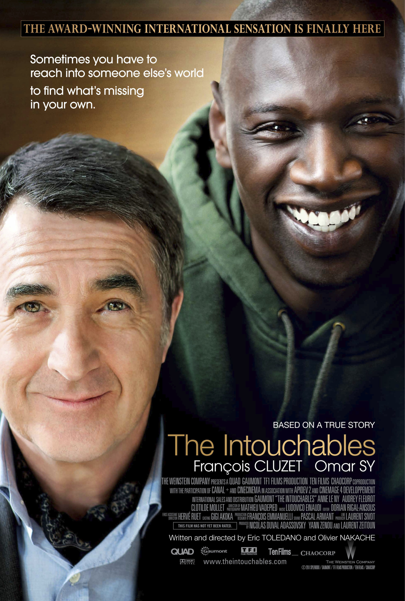 The Intouchables kapak