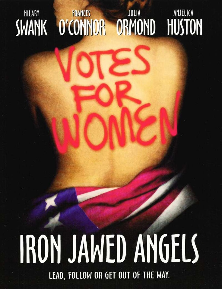 Iron Jawed Angels kapak