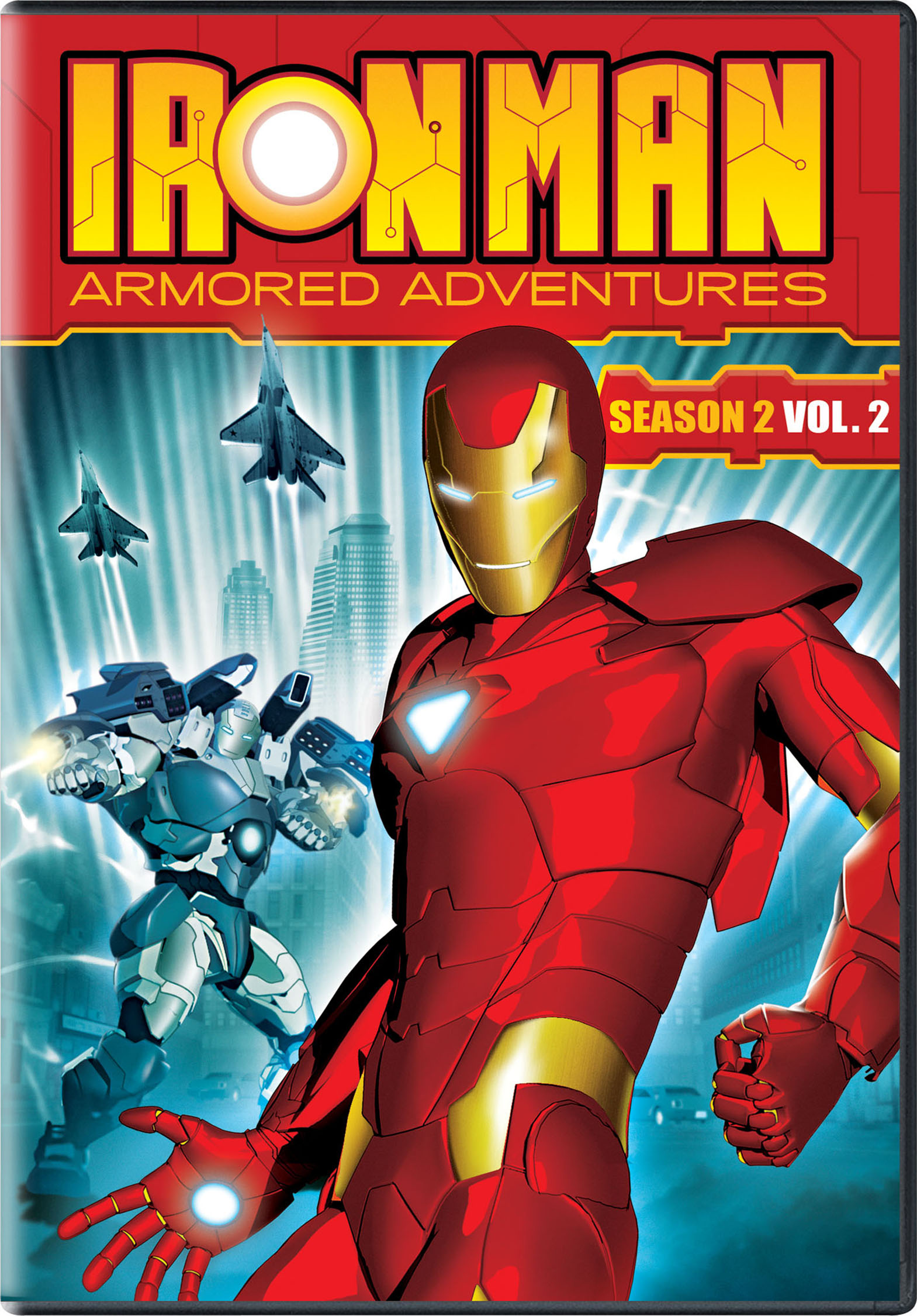 Iron Man: Armored Adventures kapak