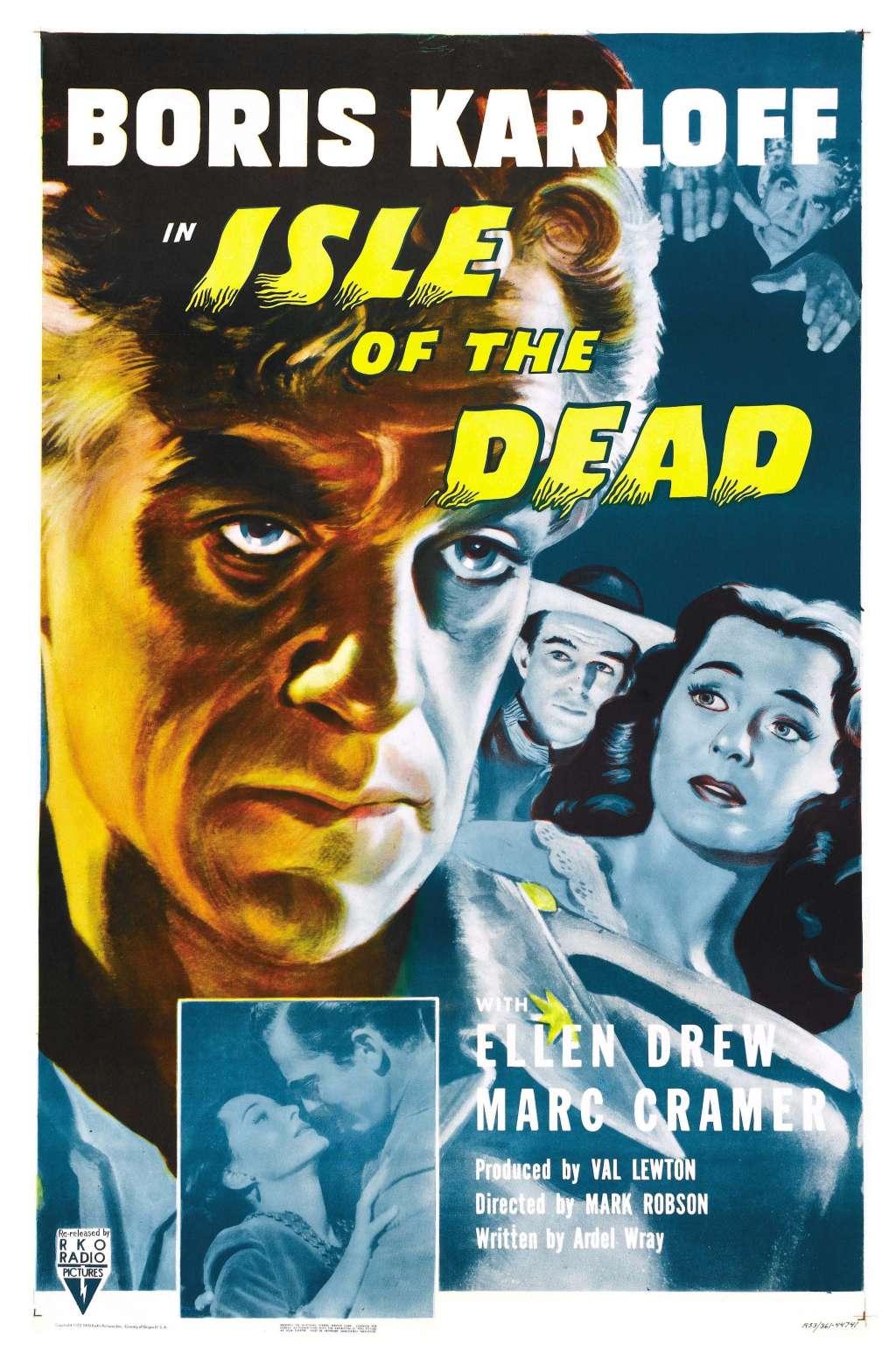 Isle of the Dead kapak