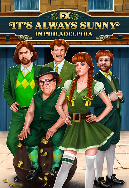 It's Always Sunny in Philadelphia kapak