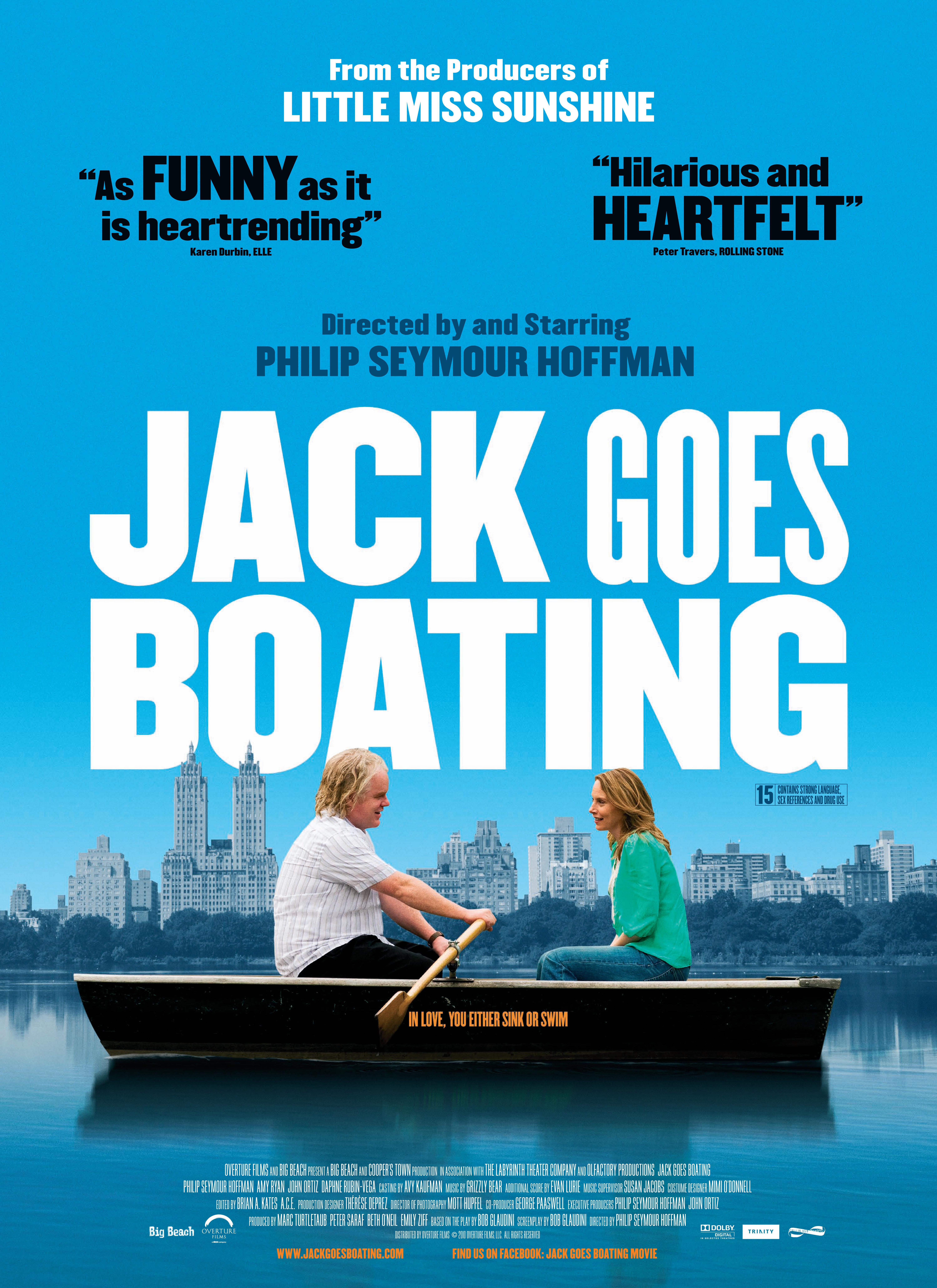 Jack Goes Boating kapak