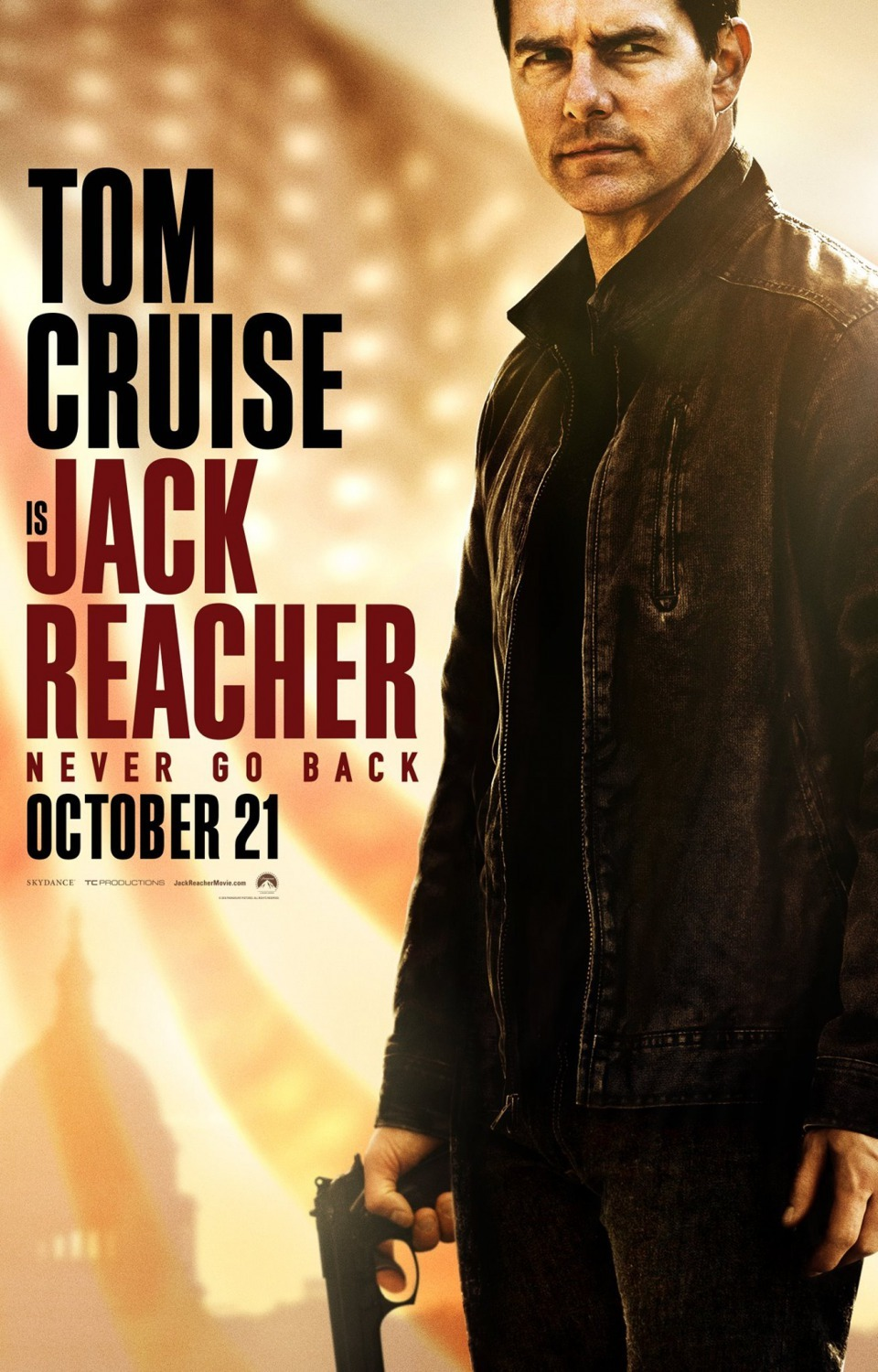 Jack Reacher: Never Go Back kapak