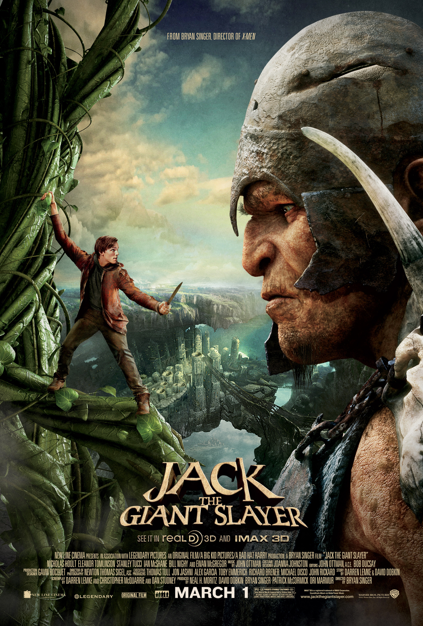 Jack the Giant Slayer kapak