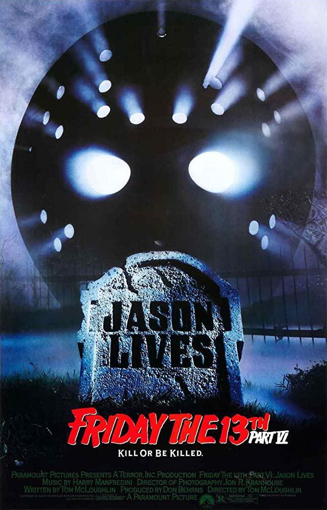 Jason Lives: Friday the 13th Part VI kapak