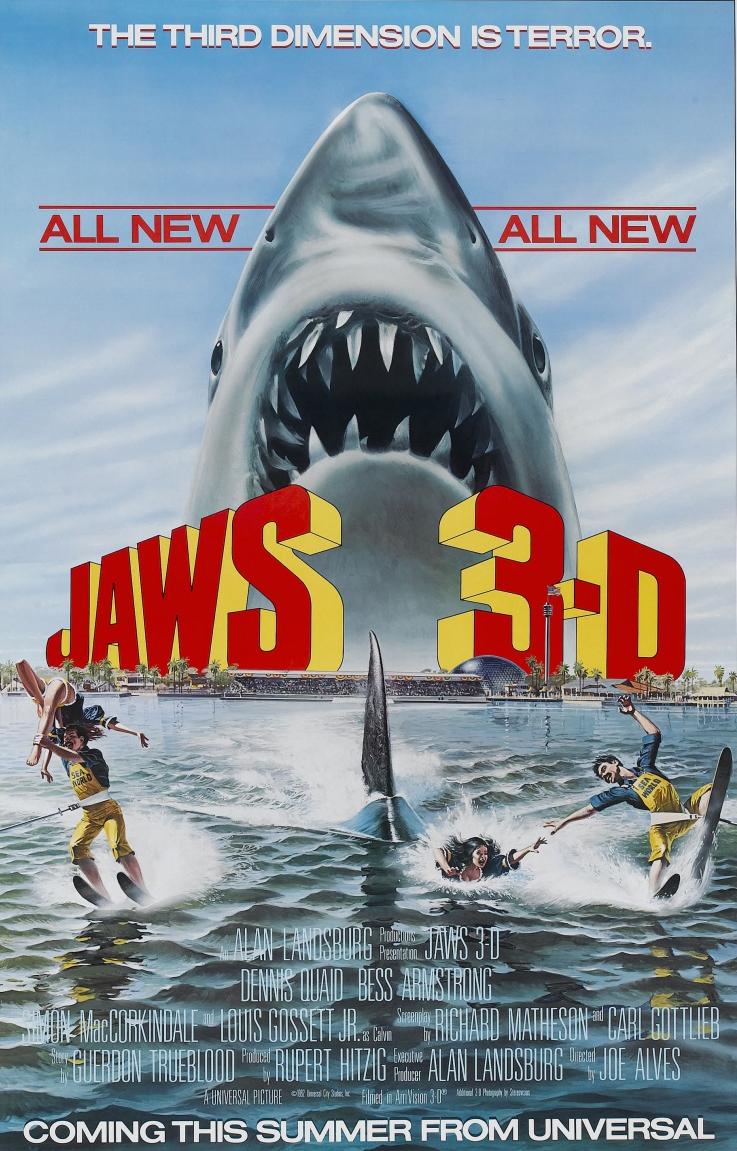 Jaws 3-D kapak
