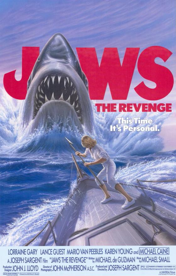 Jaws: The Revenge kapak