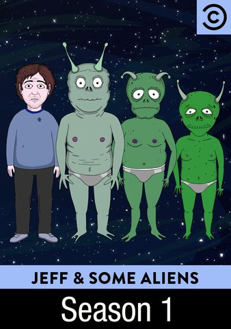 Jeff & Some Aliens kapak