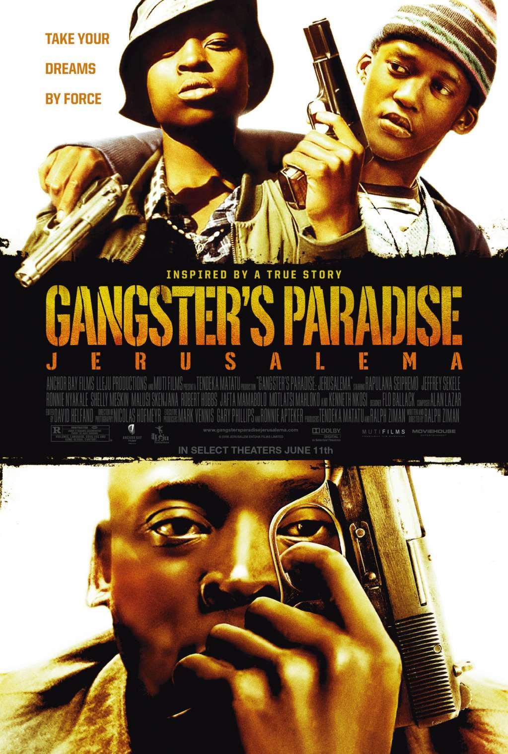 Gangster's Paradise: Jerusalema kapak