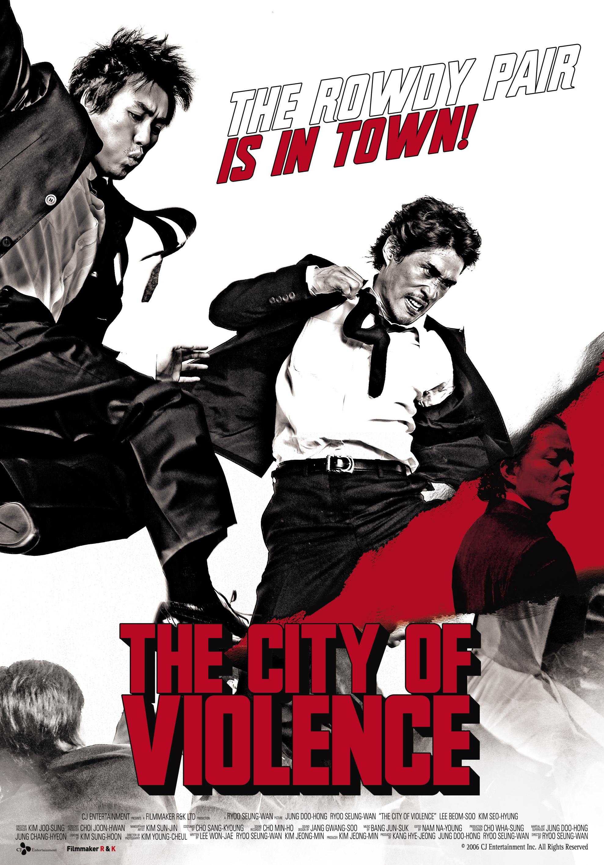 The City of Violence kapak