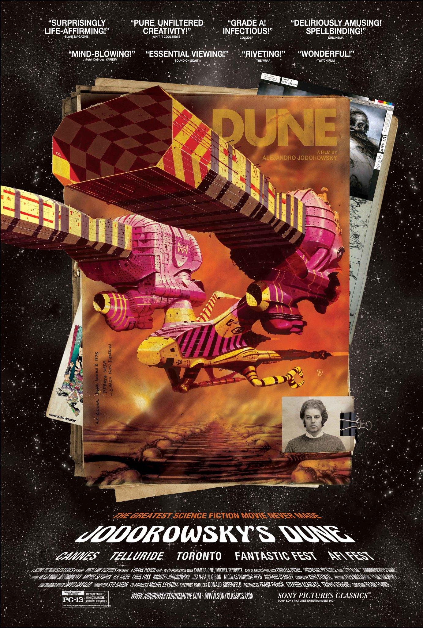 Jodorowsky's Dune kapak