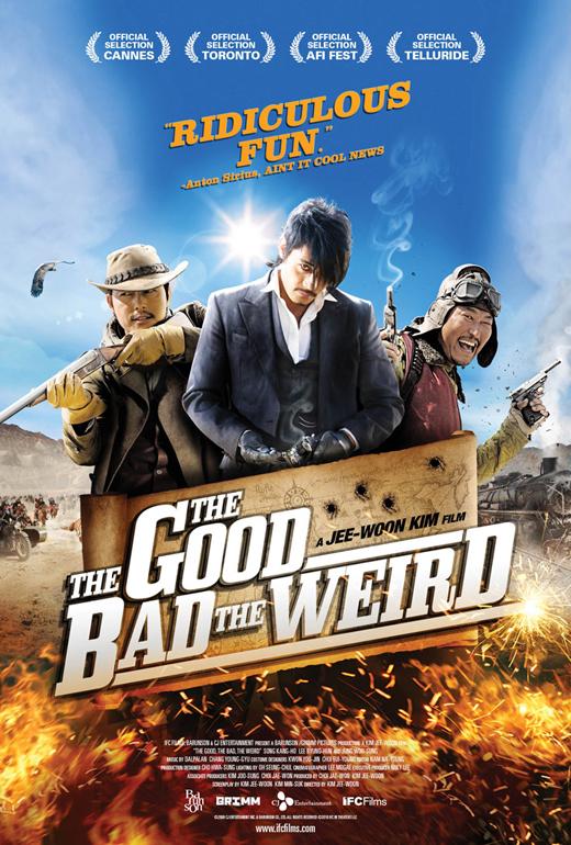 The Good the Bad the Weird kapak