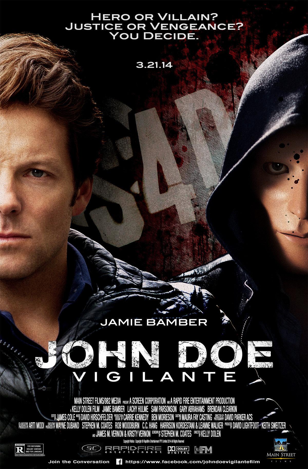John Doe: Vigilante kapak