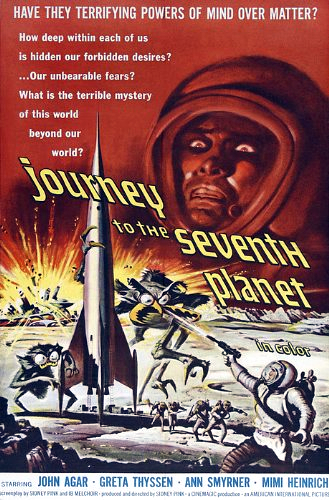 Journey to the Seventh Planet kapak