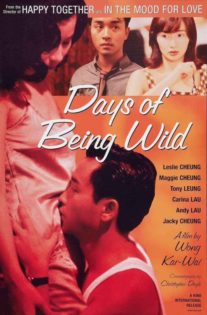 Days of Being Wild kapak