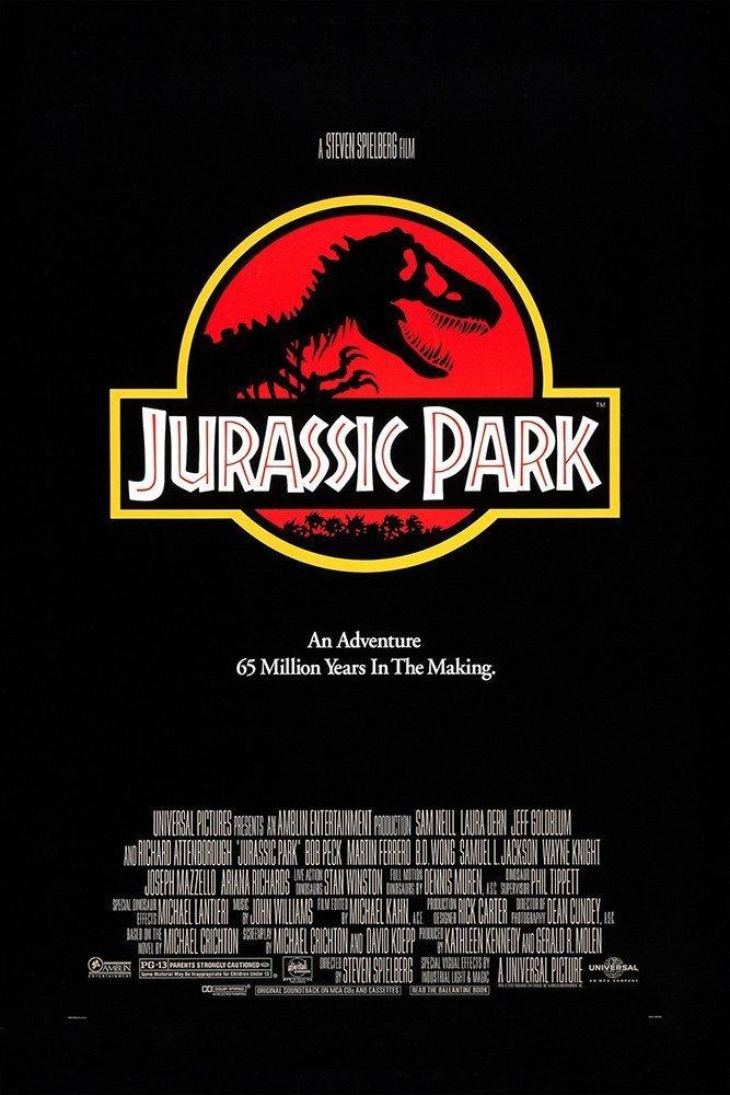 Jurassic Park kapak