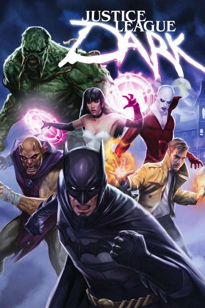 Justice League Dark kapak