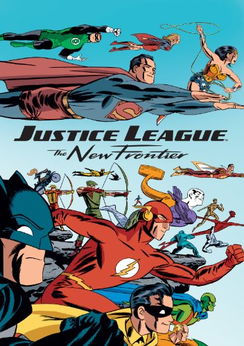 Justice League: The New Frontier kapak