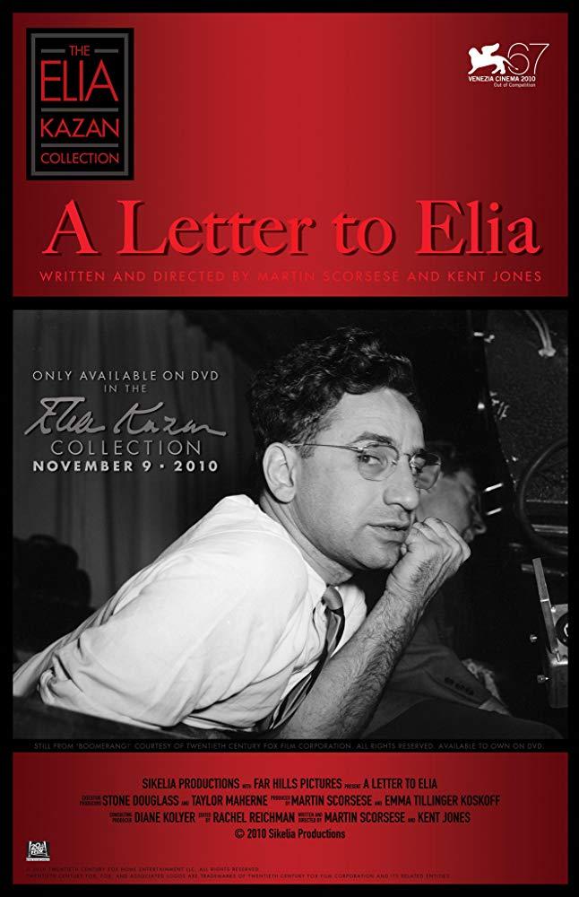 A Letter to Elia kapak