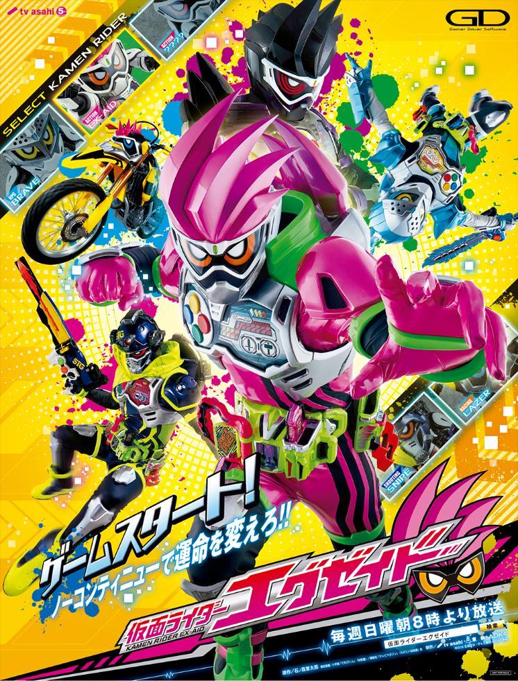 Kamen Rider Ex-Aid kapak
