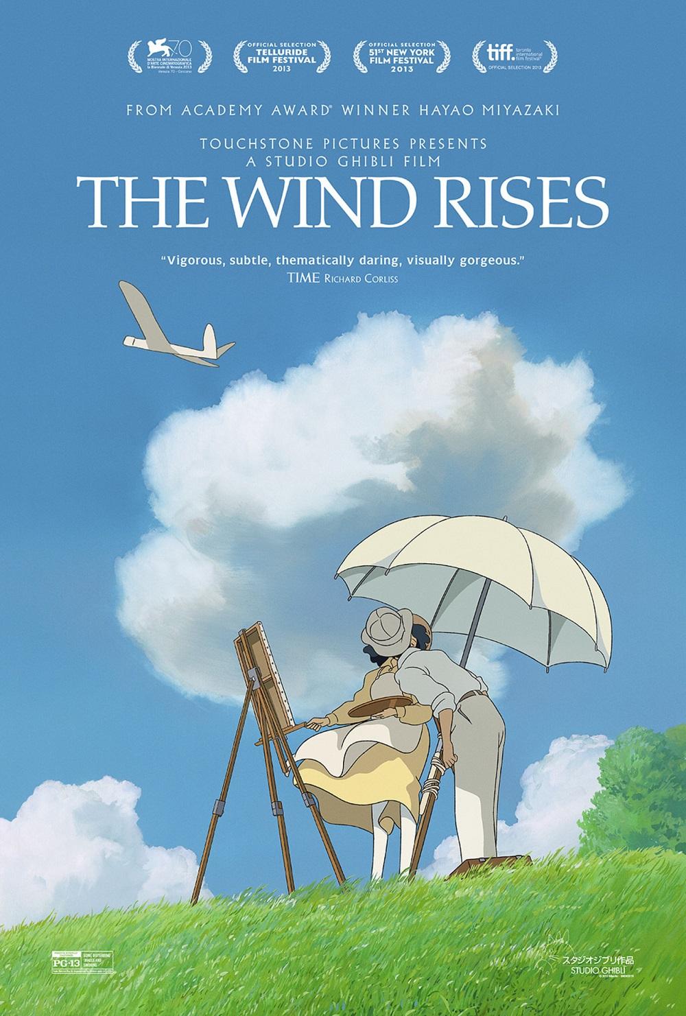 The Wind Rises kapak