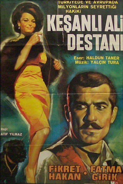 Keşanlı Ali Destanı kapak