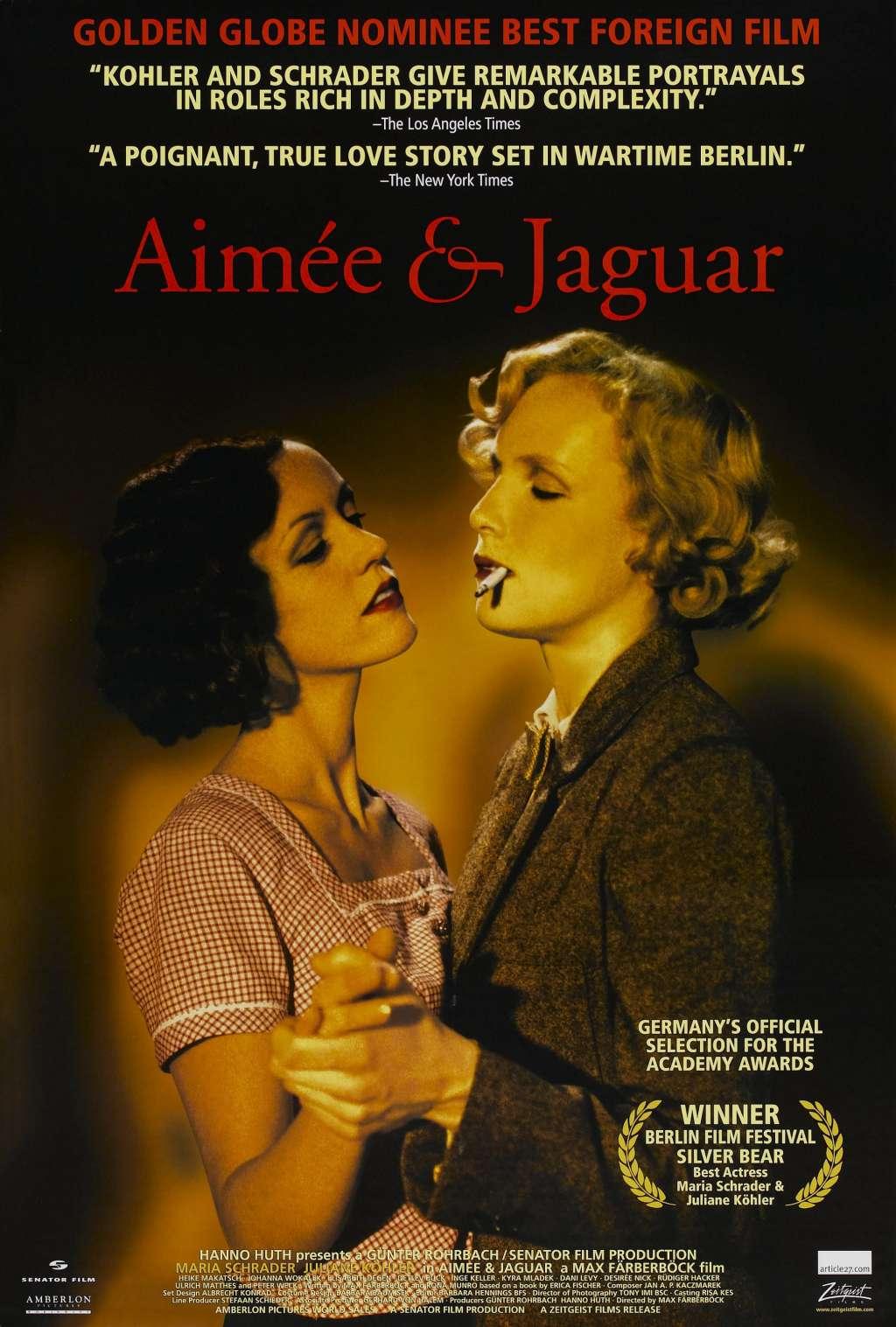 Aimee & Jaguar kapak