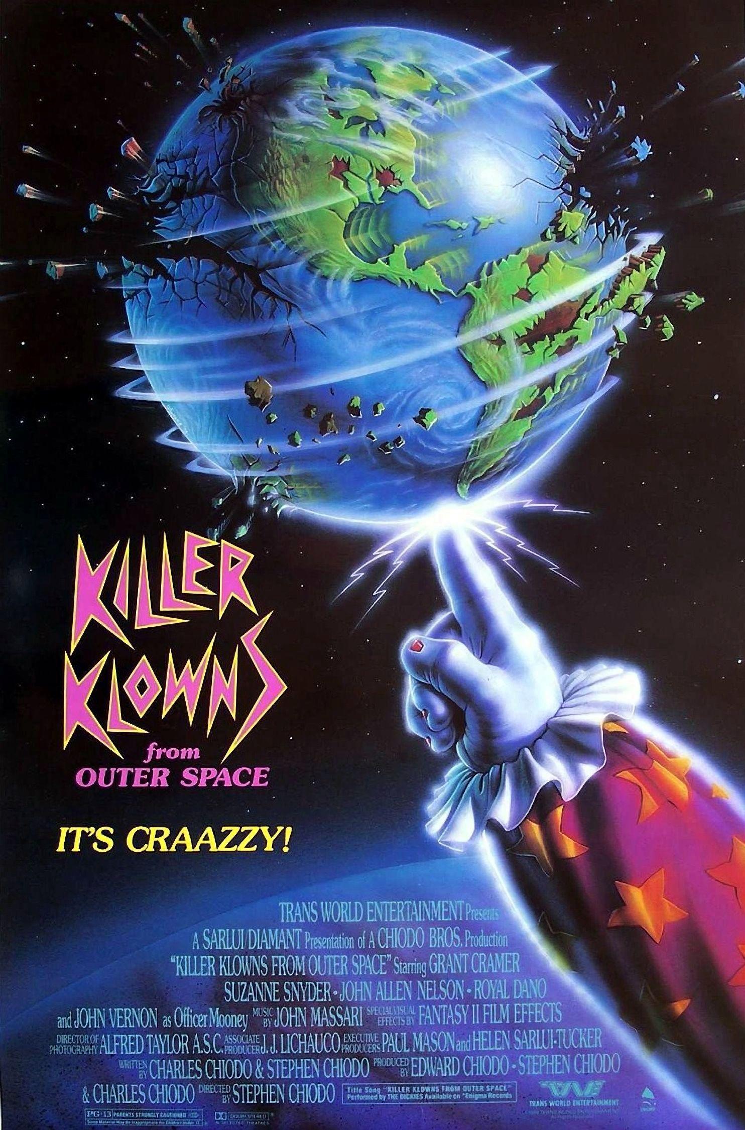 Killer Klowns from Outer Space kapak