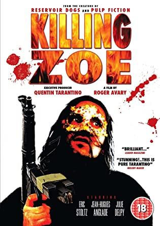 Killing Zoe kapak