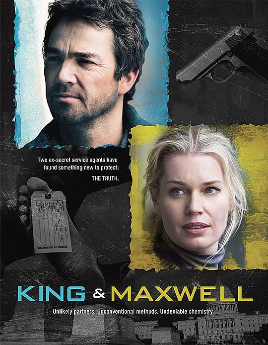 King & Maxwell kapak