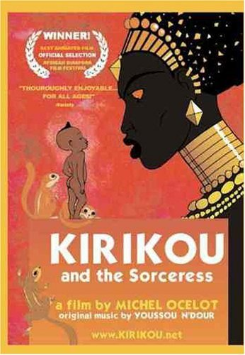 Kirikou and the Sorceress kapak