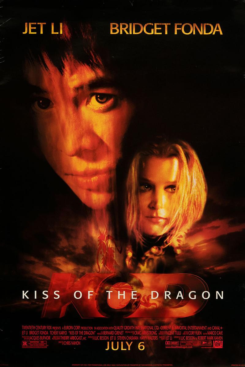 Kiss of the Dragon kapak