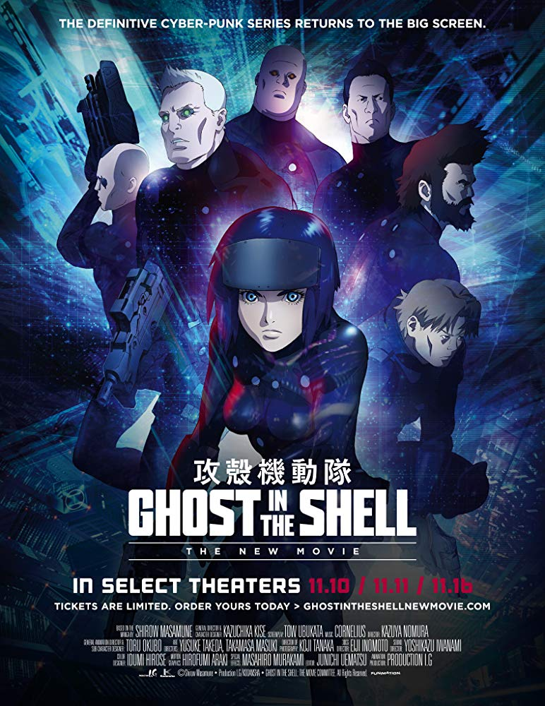 Ghost in the Shell: The New Movie kapak