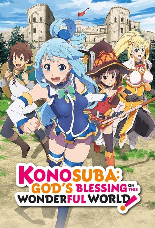 KonoSuba - God's Blessing on This Wonderful World! kapak