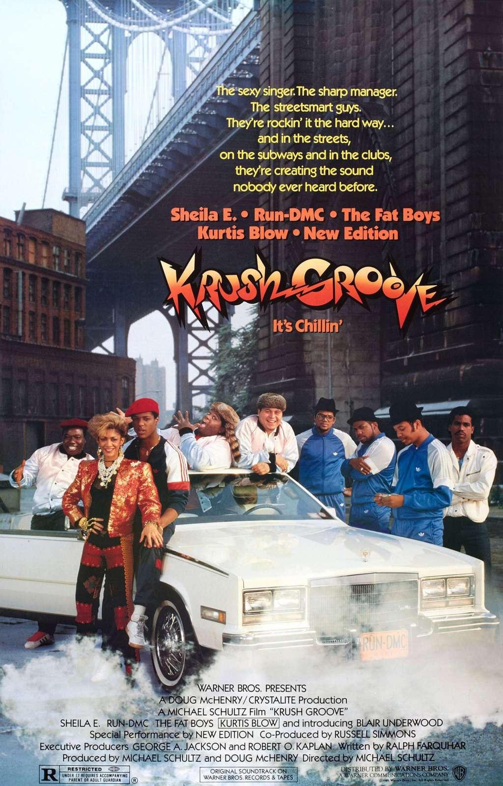 Krush Groove kapak