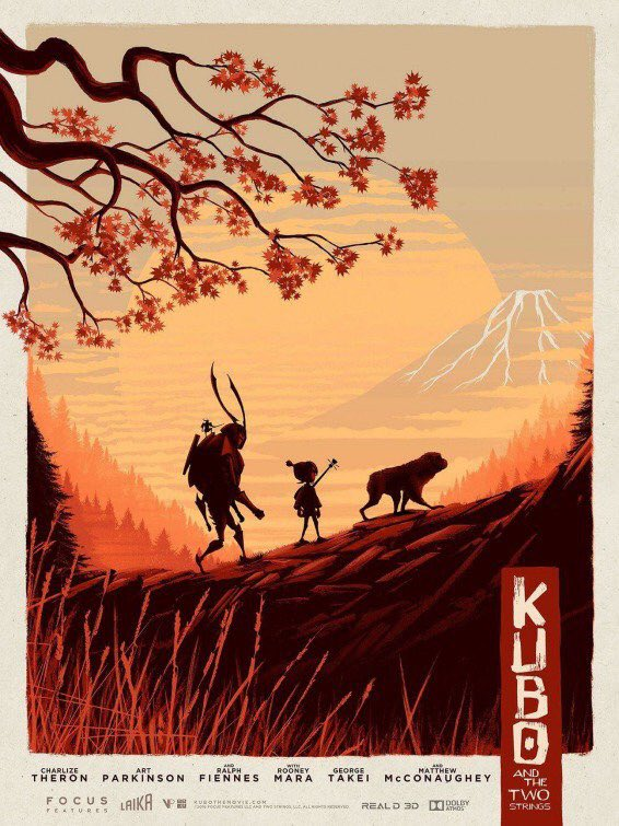 Kubo and the Two Strings kapak