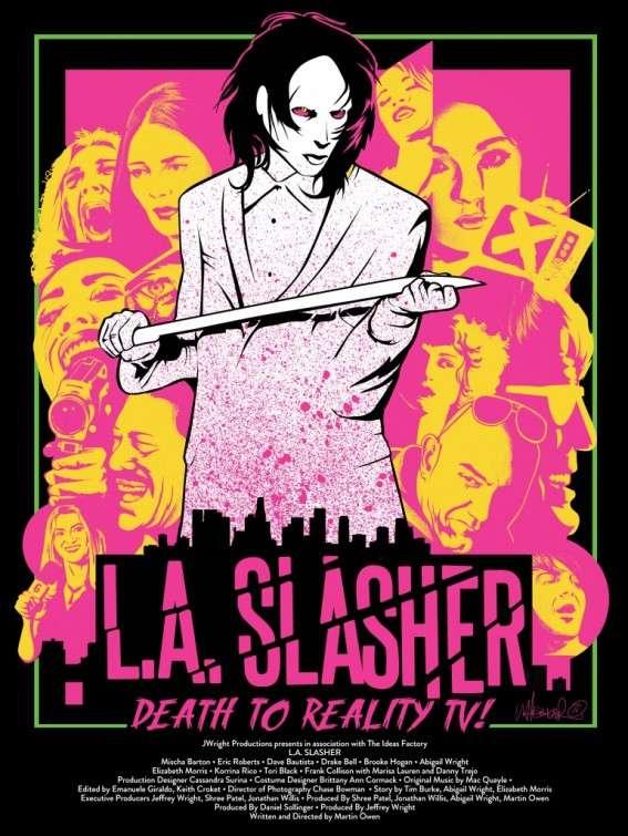 L.A. Slasher kapak