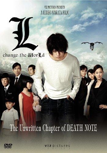 Death Note: L Change the World kapak