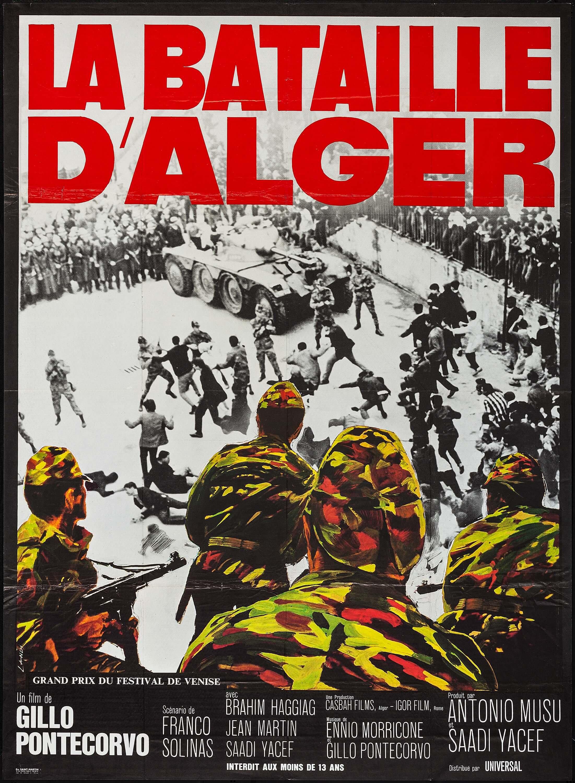 The Battle of Algiers kapak