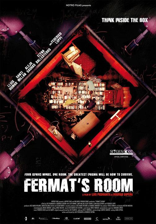 Fermat's Room kapak