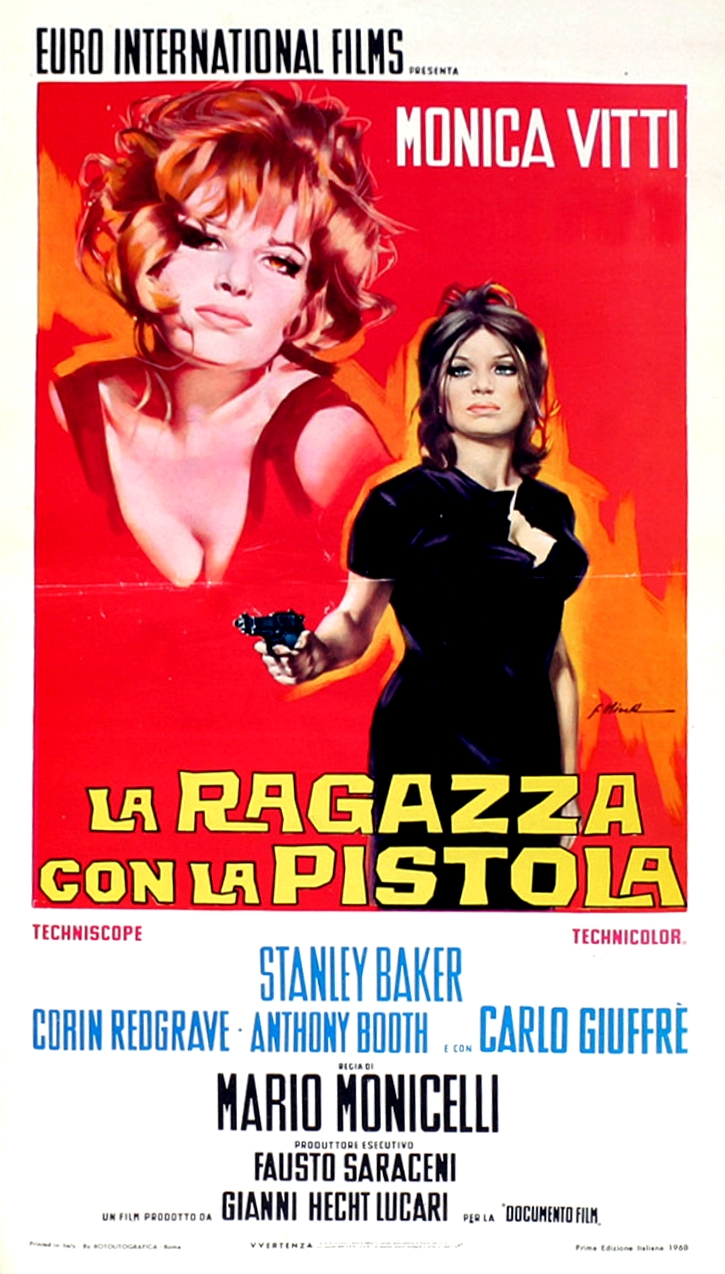 The Girl with a Pistol kapak